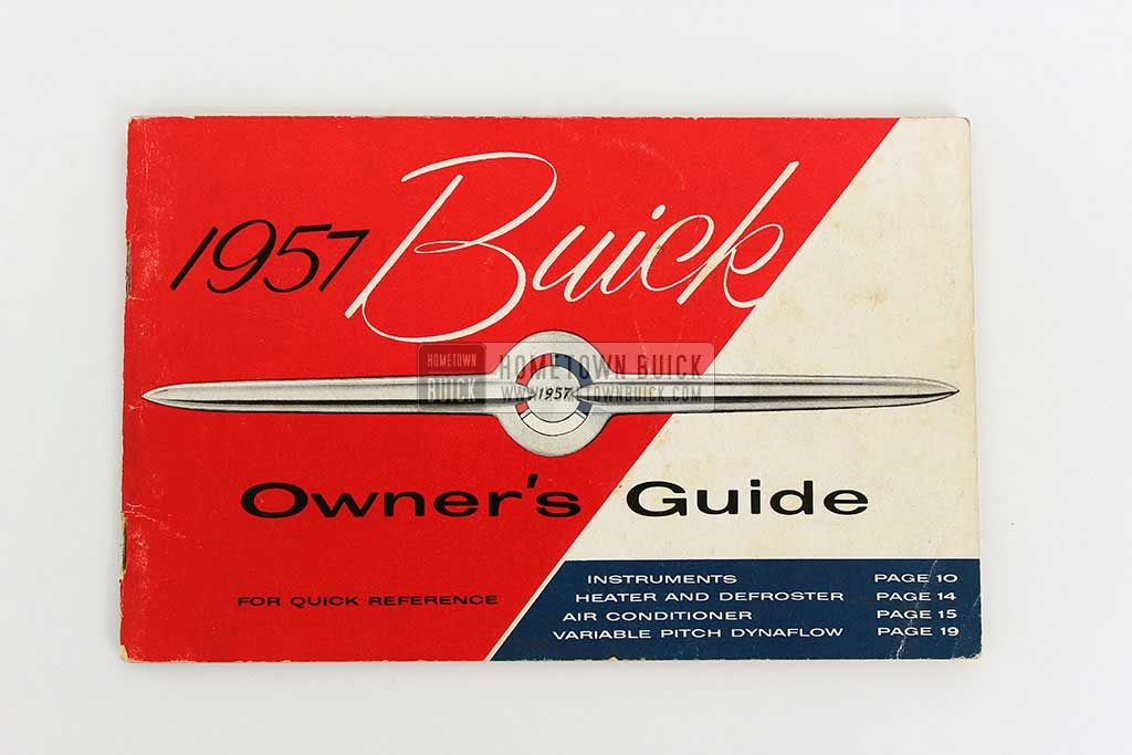1957 Buick Owners Manual 01