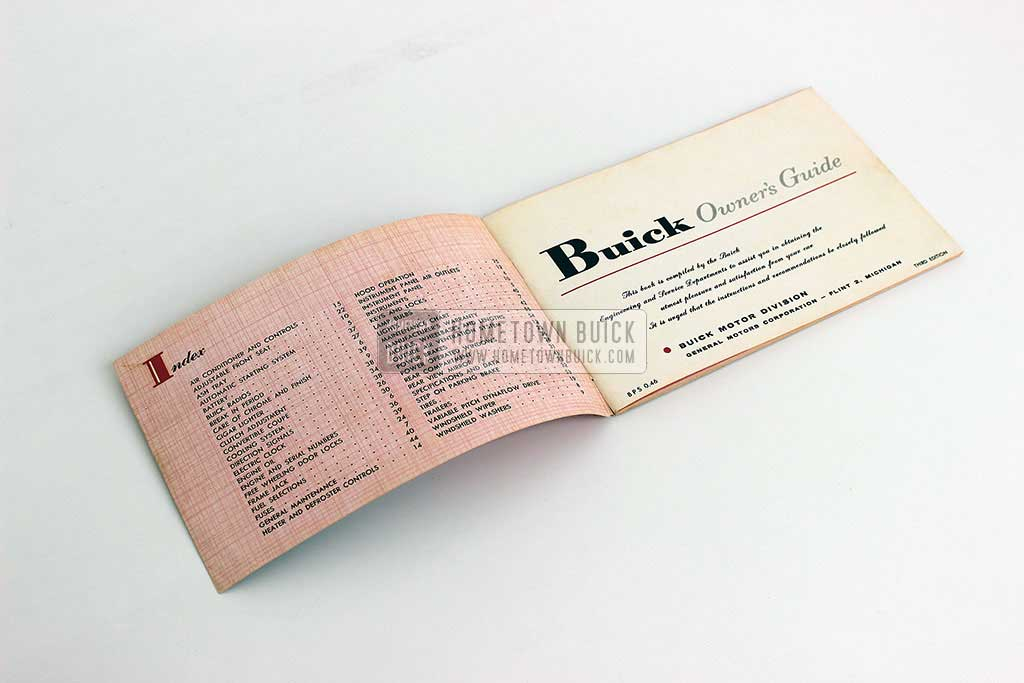 1957 Buick Owners Manual 03