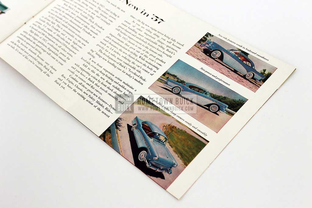 1957 Buick Sales Brochure - Hometown Buick