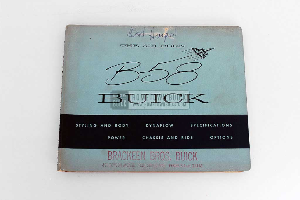 1958 Buick Dealer Facts Book 02