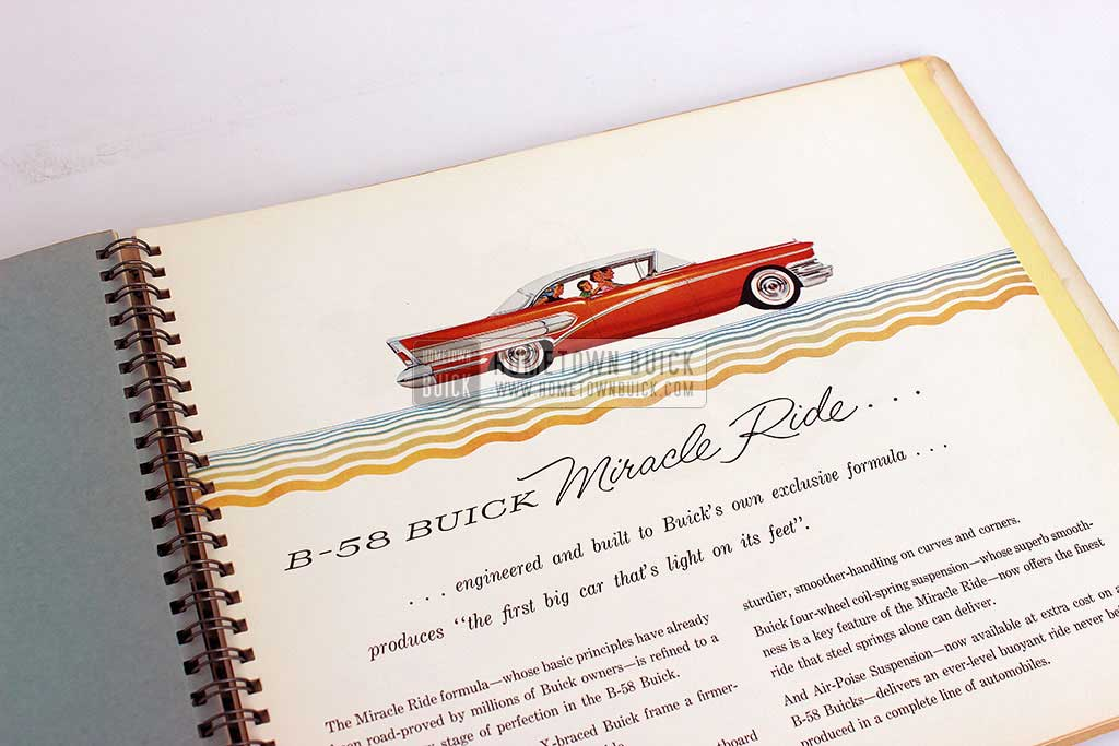 1958 Buick Dealer Facts Book 10