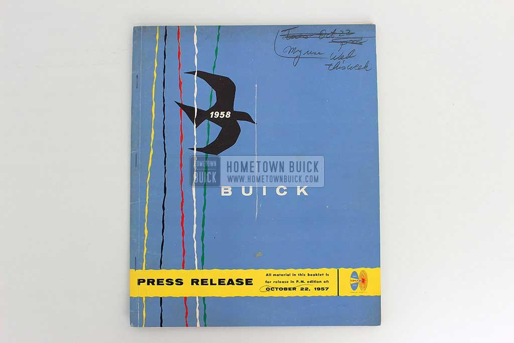 1958 Buick Press Release Kit 02