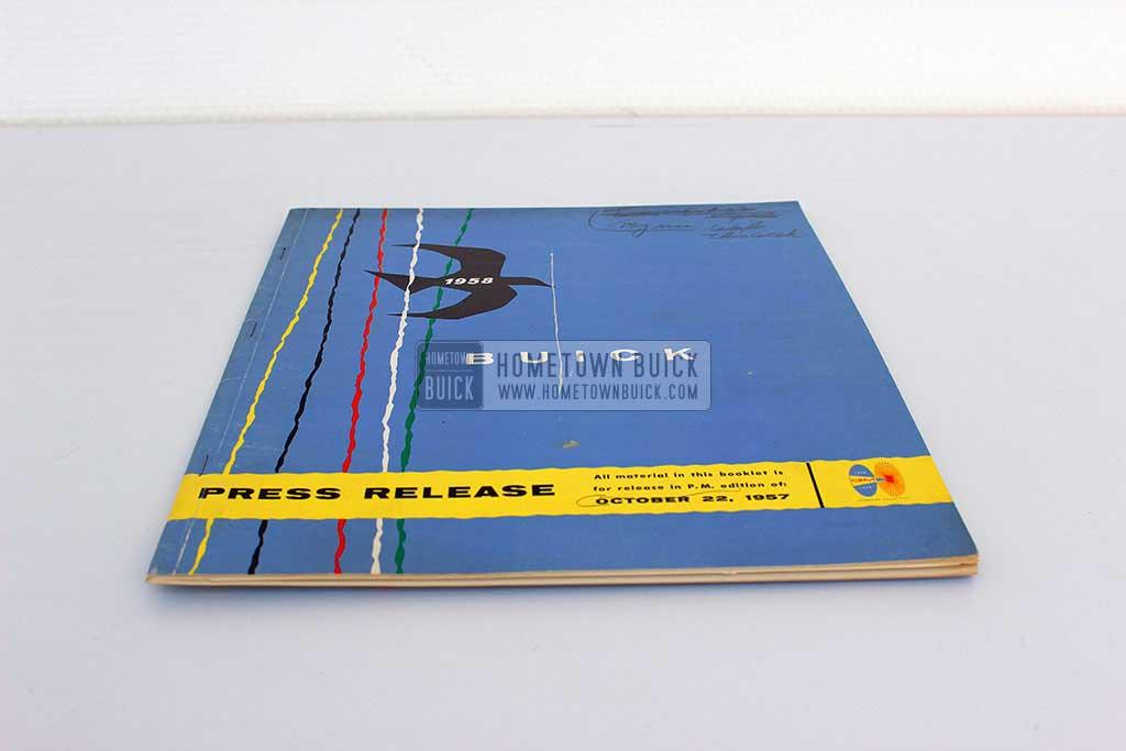 1958 Buick Press Release Kit 03