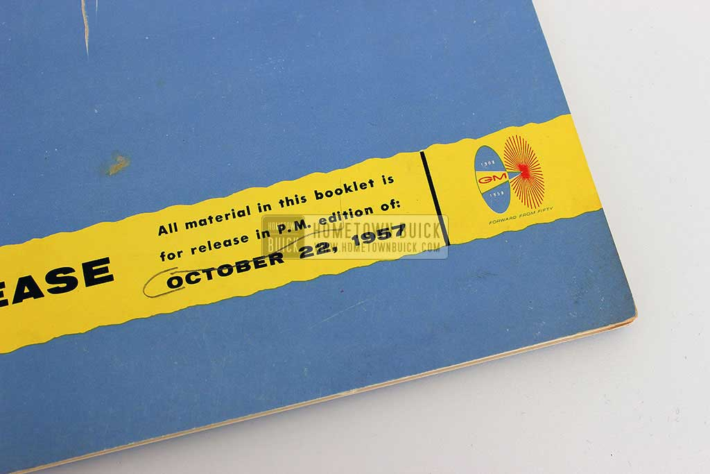 1958 Buick Press Release Kit 04