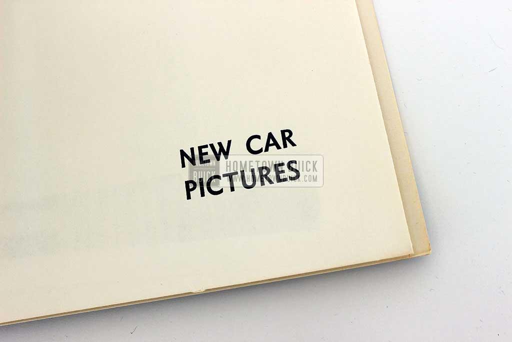 1958 Buick Press Release Kit 07