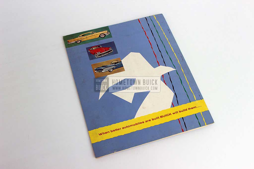 1958 Buick Press Release Kit 11