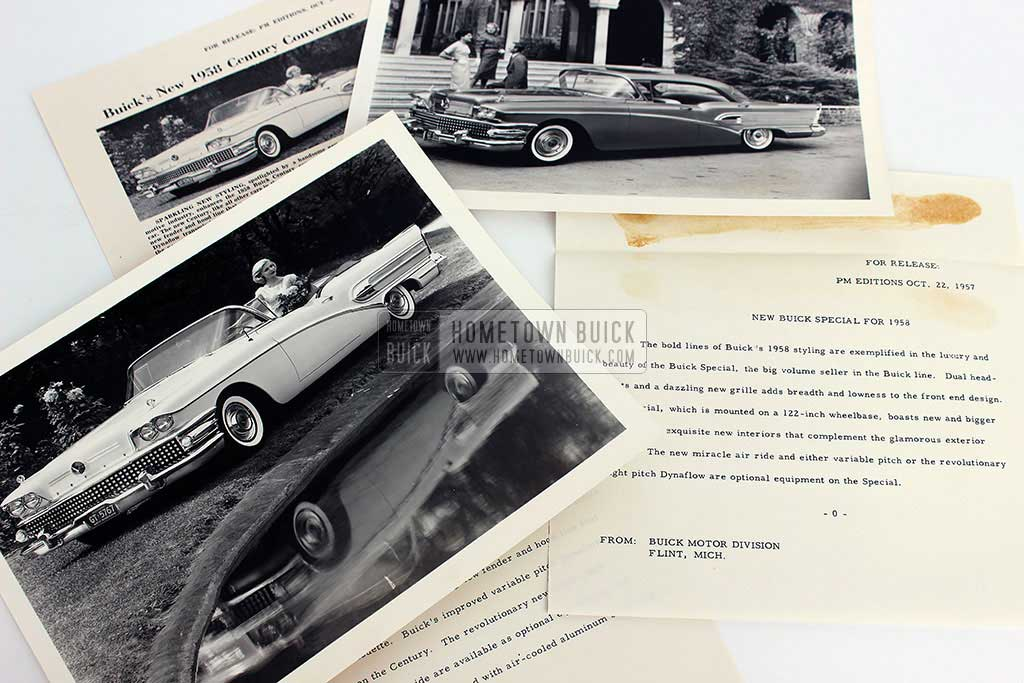 1958 Buick Press Release Kit 12