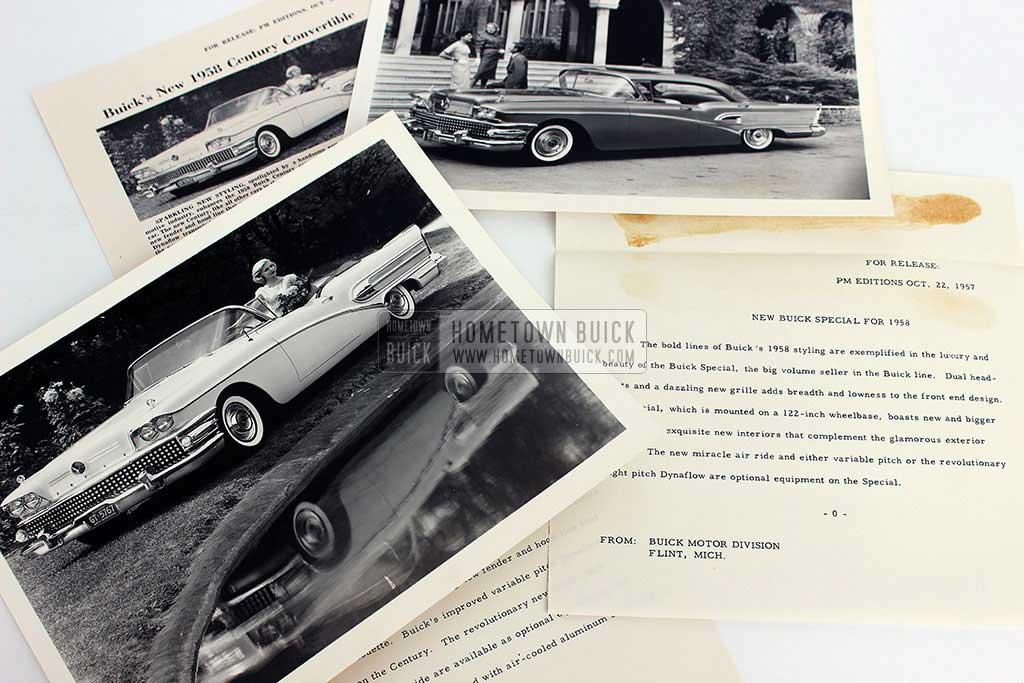 1958 Buick Press Release Kit 12