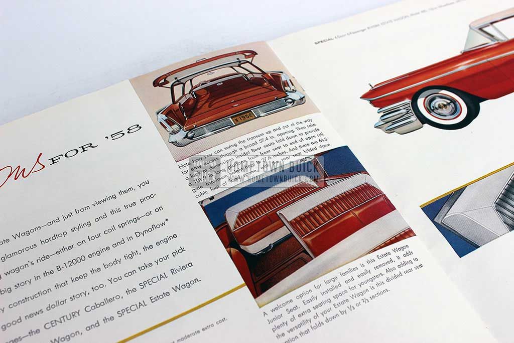 1958 Buick Sales Brochure - Hometown Buick