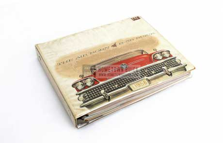 1958 Buick Showroom Album & Fabrics Book 01