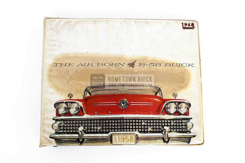1958 Buick Showroom Album & Fabrics Book 02