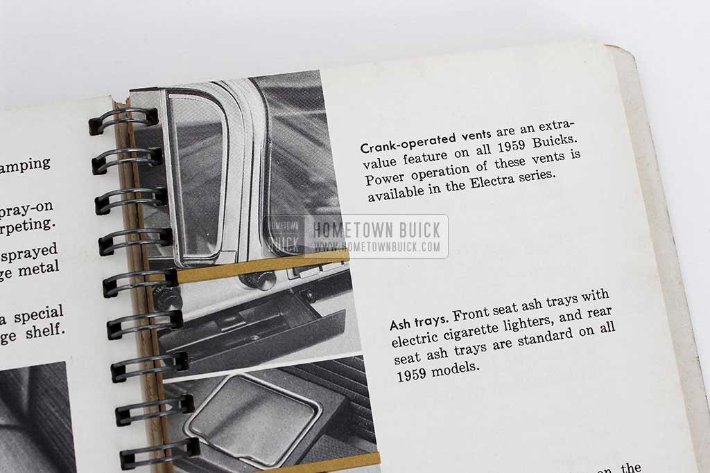 1959 Buick Dealer Facts Book 11