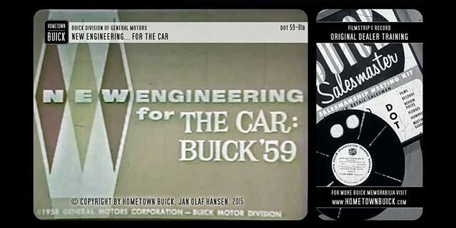 1959 Buick New Engineering