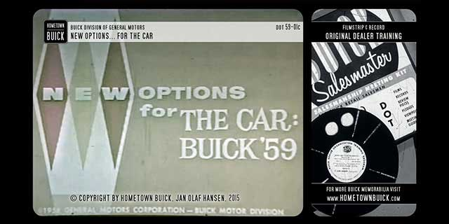 1959 Buick New Options