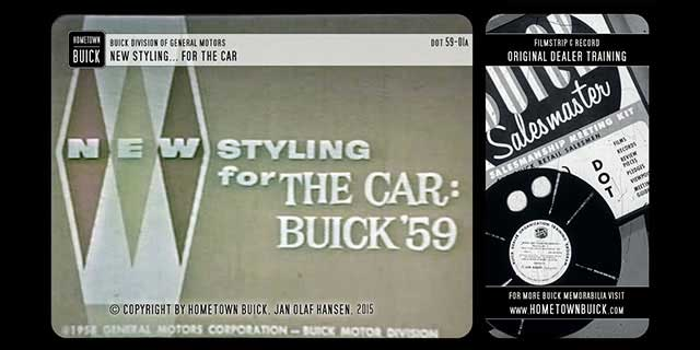 1959 Buick New Styling