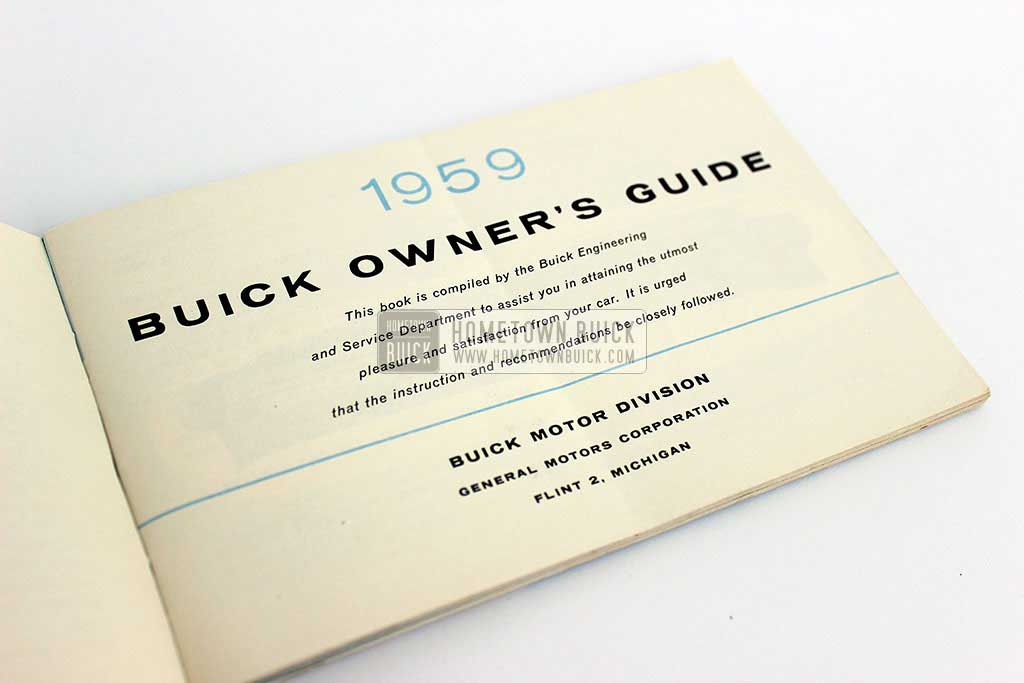 1959 Buick Owners Manual 04