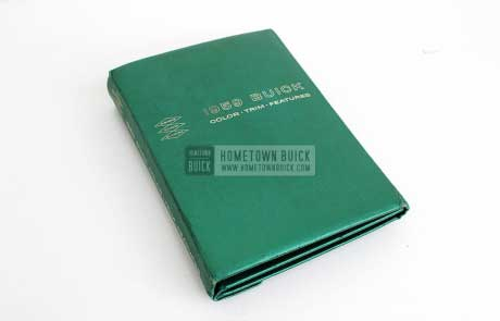 1959 Buick Showroom Album & Fabrics Book 01
