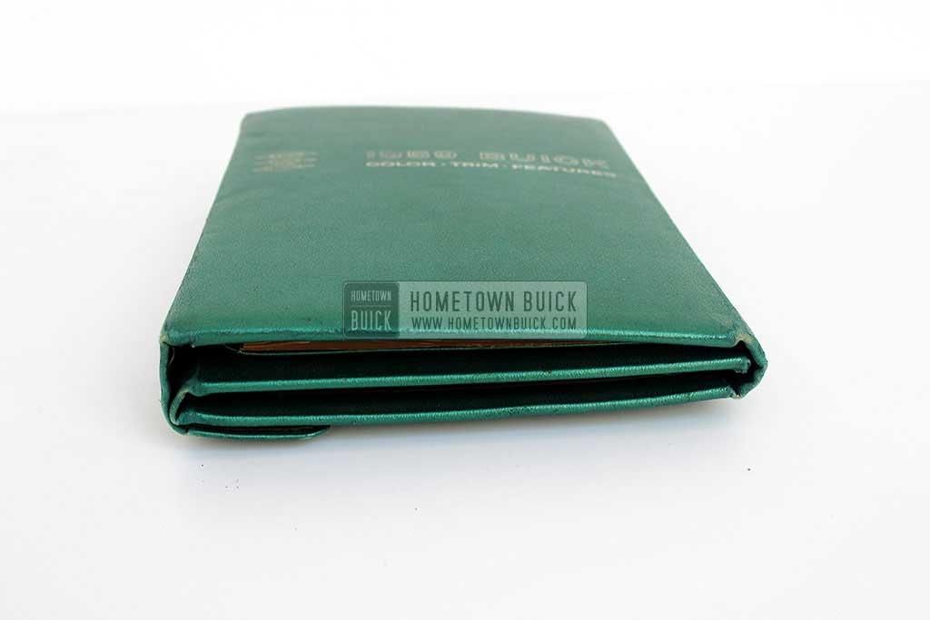 1959 Buick Showroom Album & Fabrics Book 03