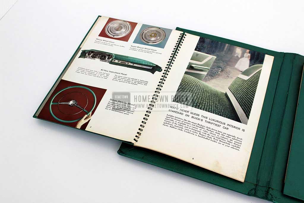 1959 Buick Showroom Album & Fabrics Book 07