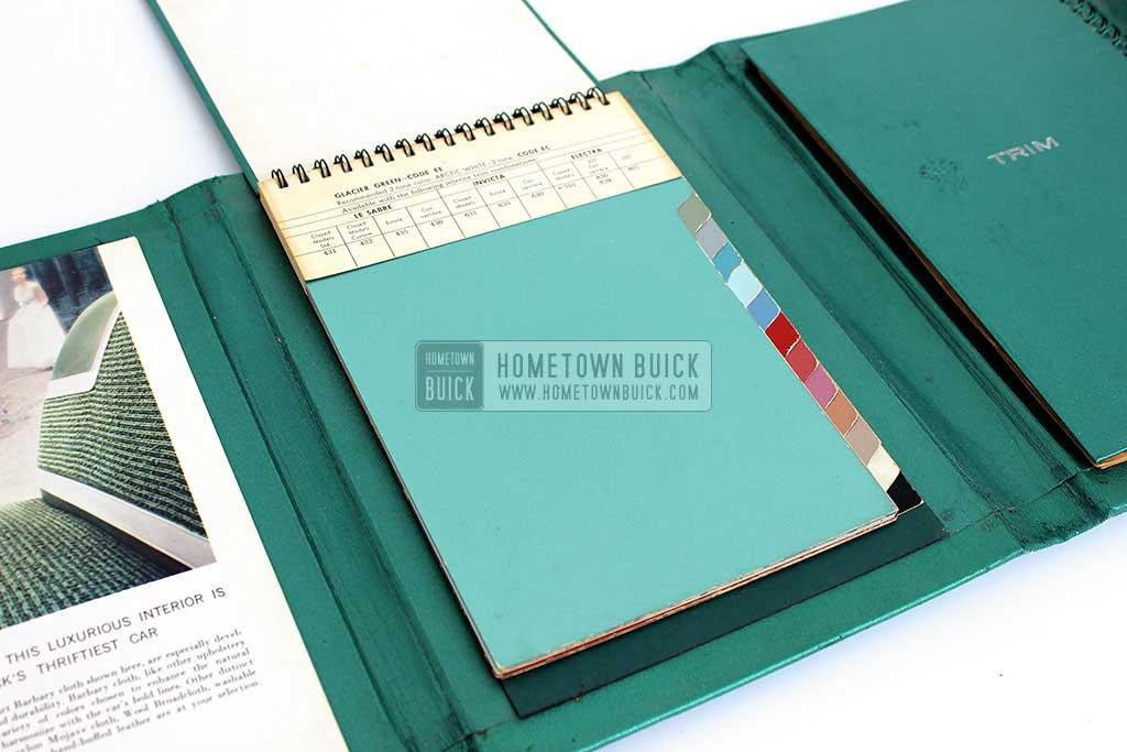 1959 Buick Showroom Album & Fabrics Book 08