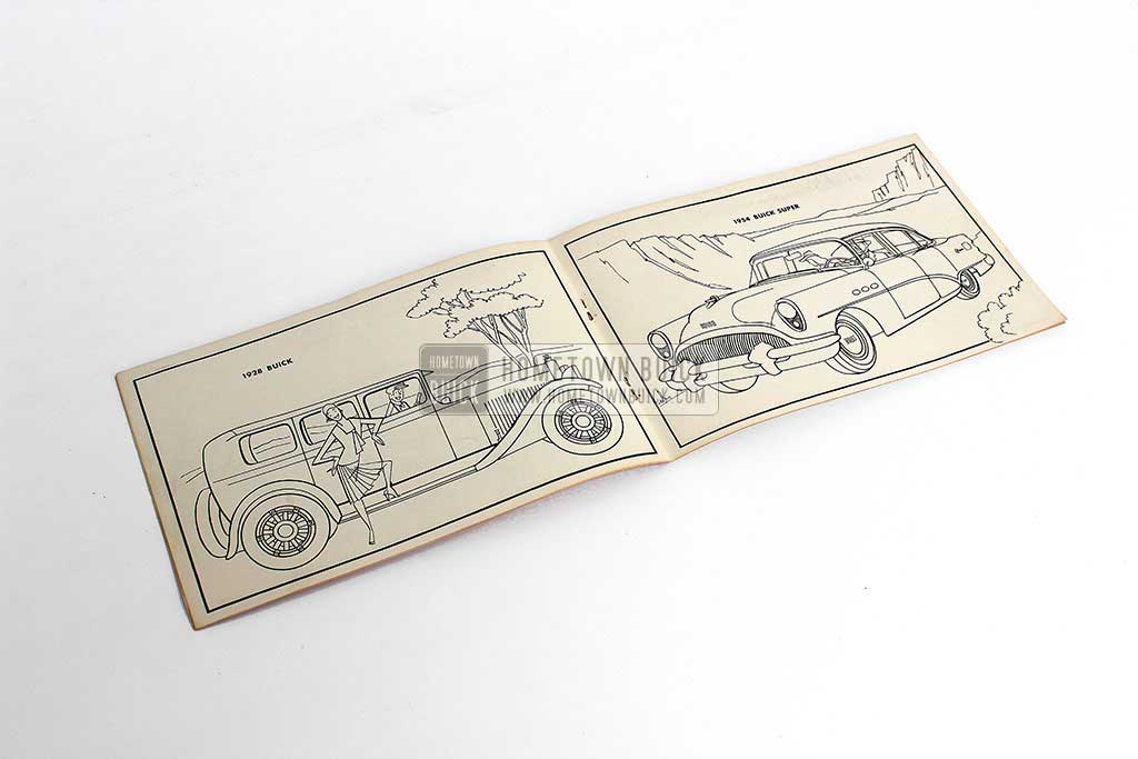1954 Buick Coloring Booklet 03