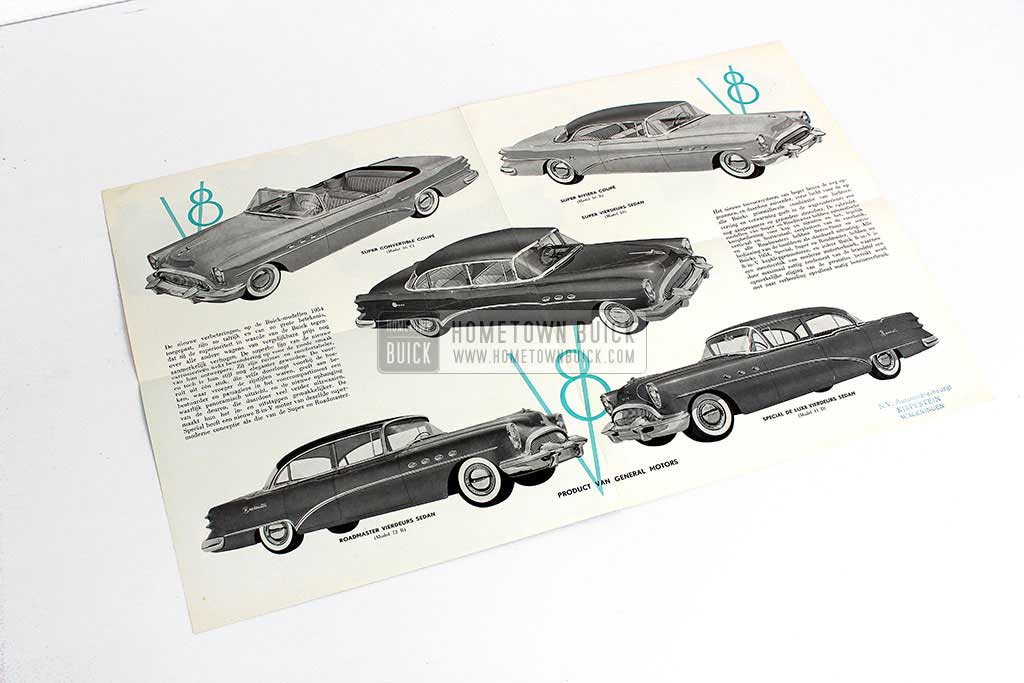 1954 Buick Sales Flyer Netherlands 03