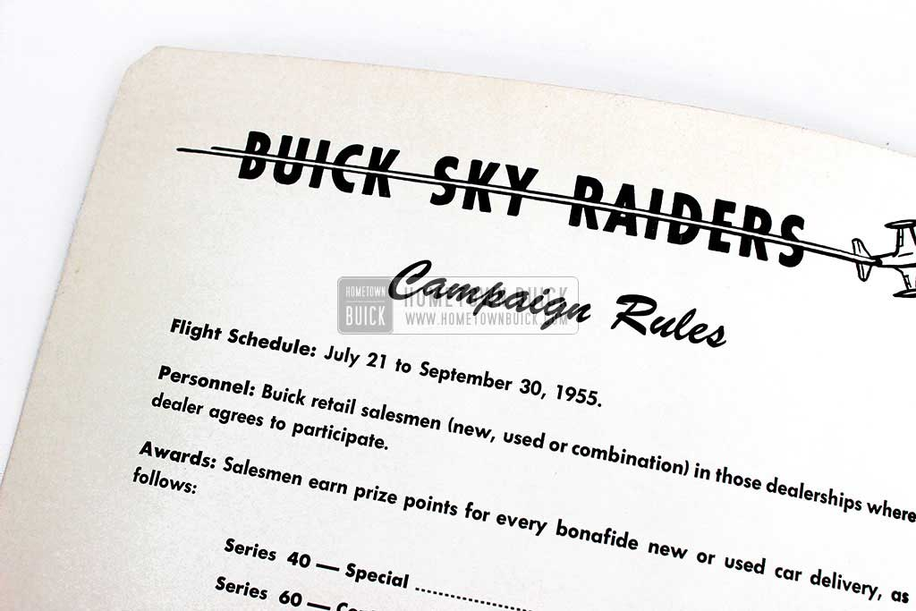 1955 Buick Sky Raiders Campaign Catalog 04