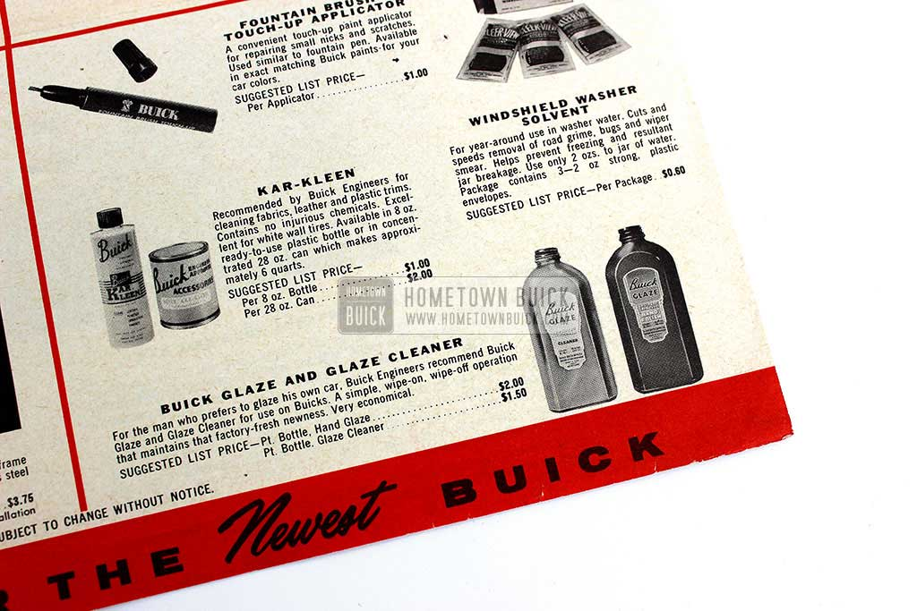 1957 Buick Accessories Flyer 05