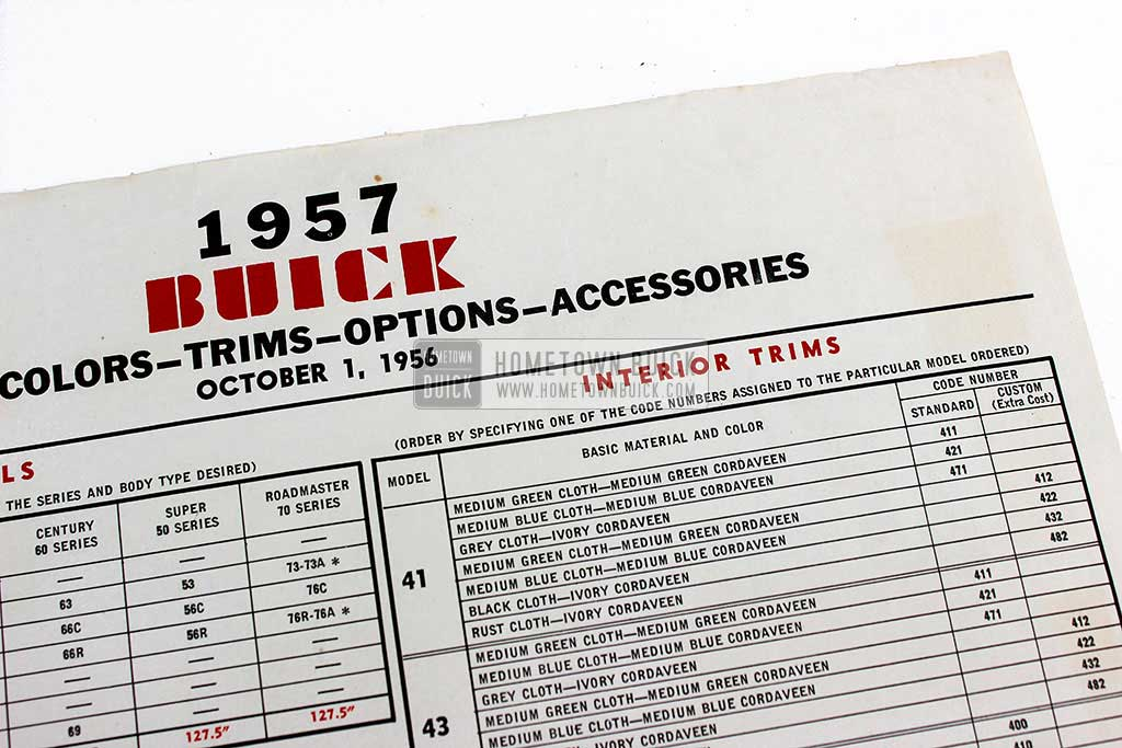 1957 Buick Car Order Form 03