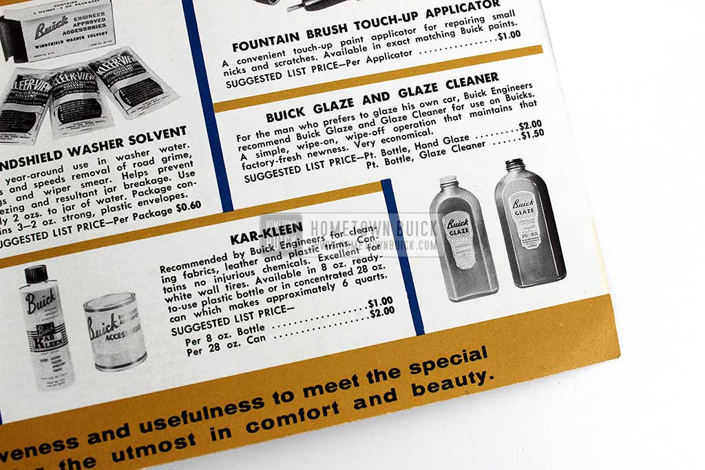1958 Buick Accessories Flyer 05