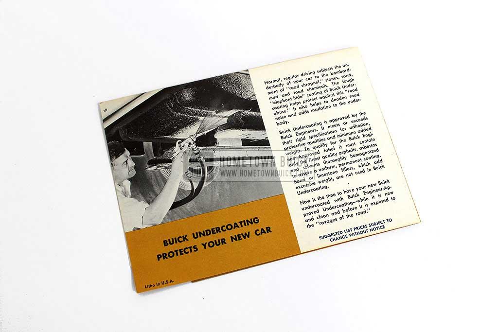 1958 Buick Accessories Flyer 06