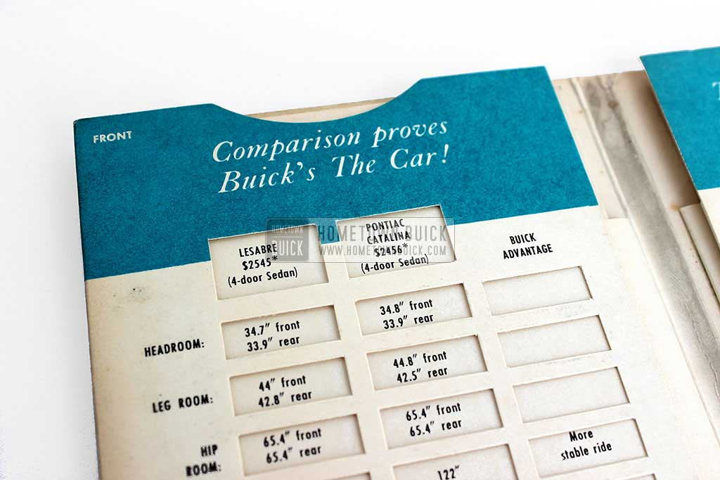 1959 Buick Plain Facts Comparison Booklet 03