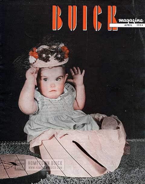 Buick Magazine April 1954