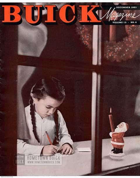 Buick Magazine December 1951
