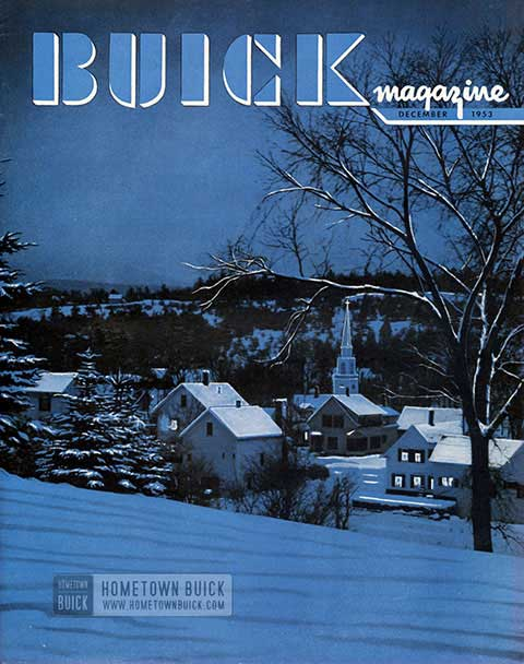Buick Magazine December 1953