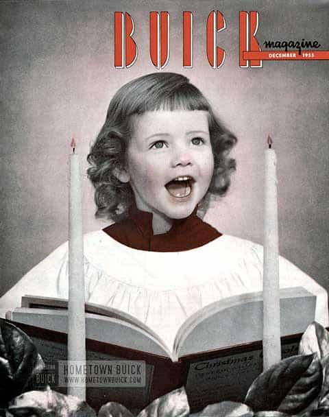 Buick Magazine December 1955