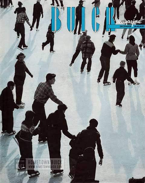 Buick Magazine December 1956, January 1957
