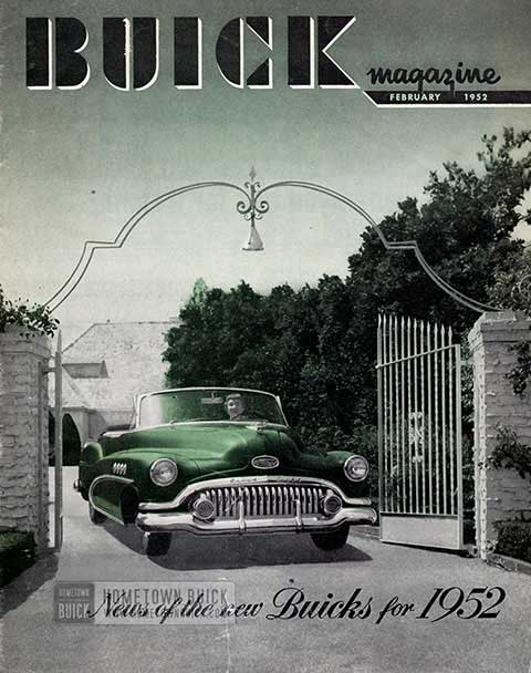 Buick Magazine February 1952
