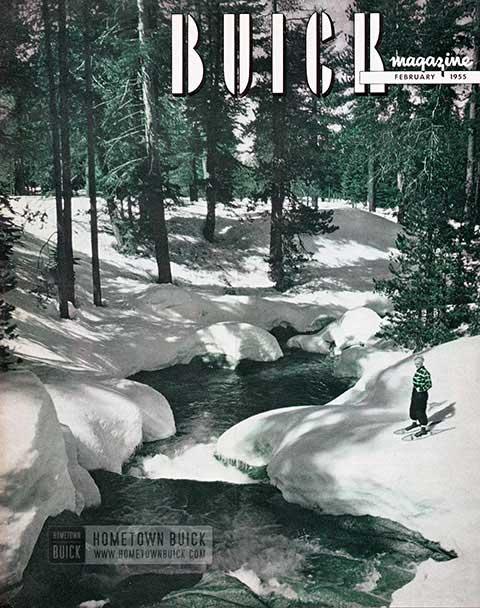 Buick Magazine February 1955