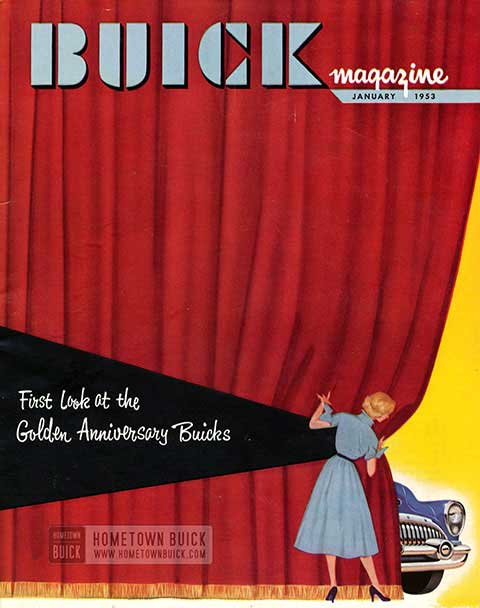 Buick Magazine January 1953