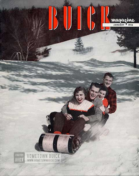 Buick Magazine January 1956