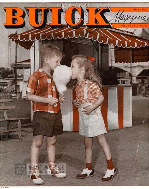 Buick Magazine July 1951