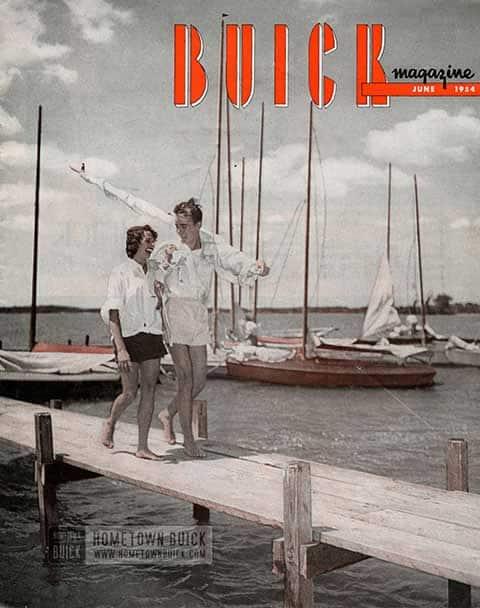 Buick Magazine June 1954