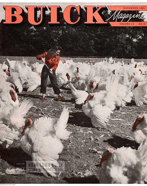 Buick Magazine November 1951