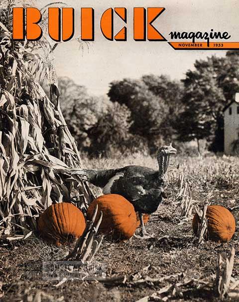 Buick Magazine November 1953