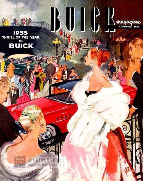 Buick Magazine November 1954