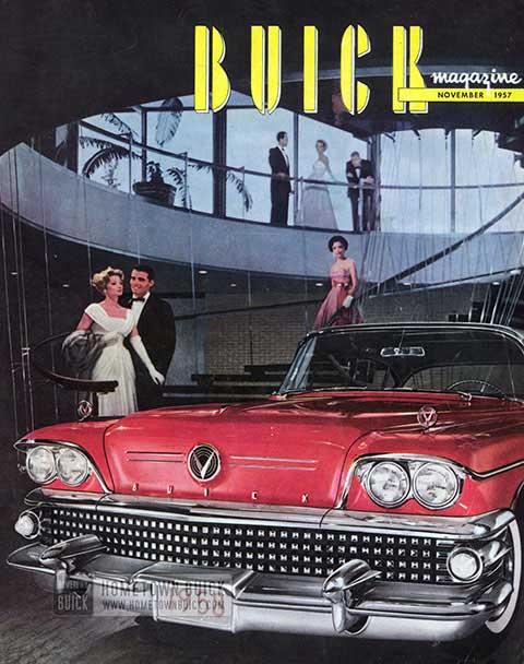 Buick Magazine November 1957