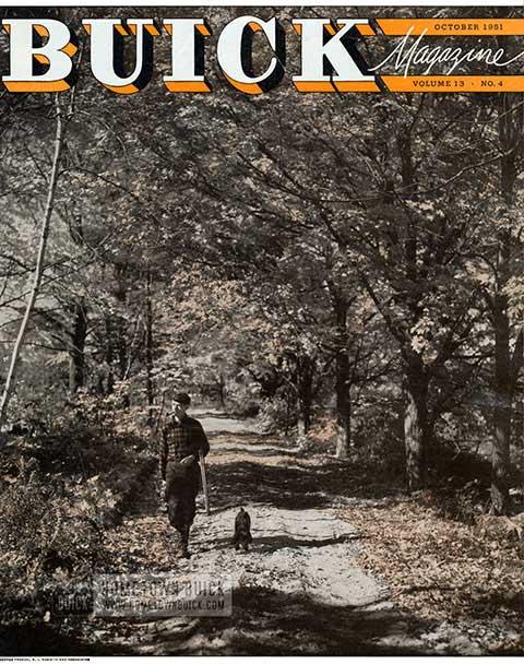 Buick Magazine October 1951