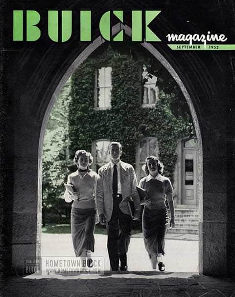 Buick Magazine September 1953