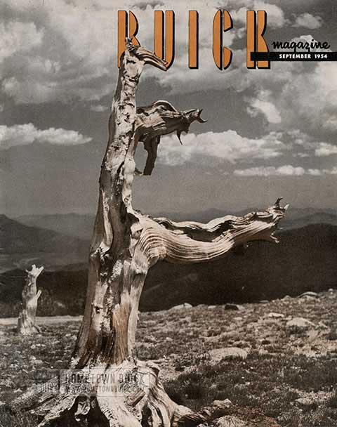 Buick Magazine September 1954